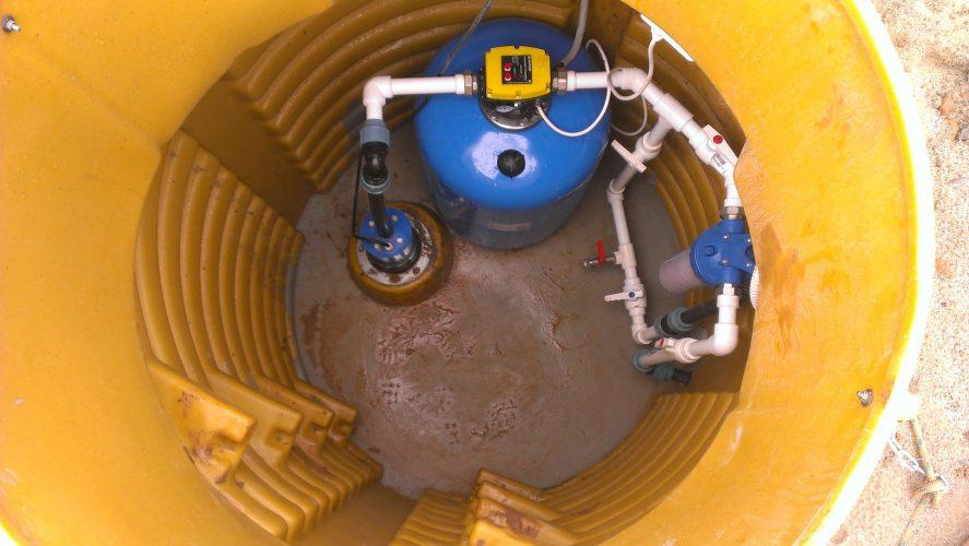 Бурение скважин на воду в Курске кессон из пластика