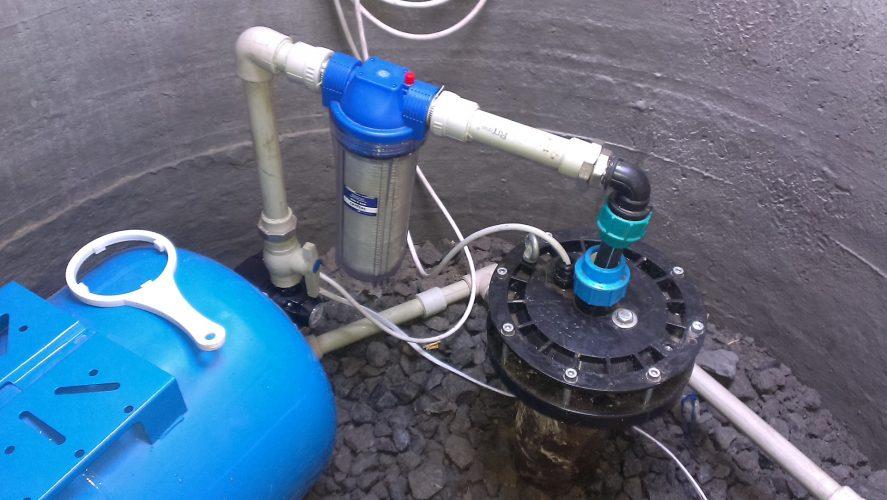 Бурение скважин на воду в Курске кессон