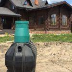 Пластиковая емкость для канализации Биофор